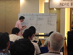 稲垣講師の授業風景